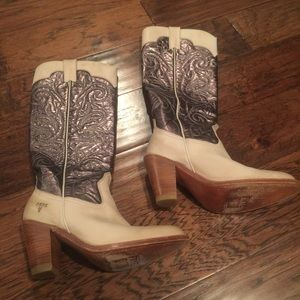 GORGEOUS Frye Tall Heeled Boots #77885